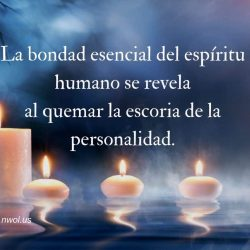 la bondad esencial del espritu