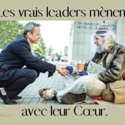 Les vrais leaders menent