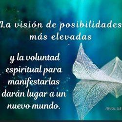 La vision de posibilidades