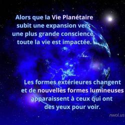 Alors que la Vie Planetaire