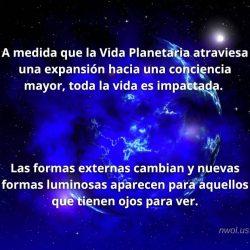 A medida que la Vida Planetaria atraviesa