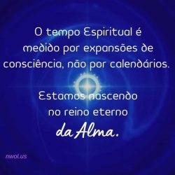 O tempo Espiritual e