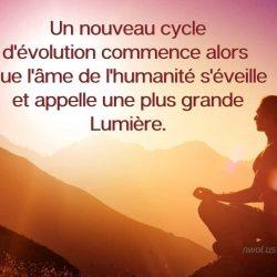 Un nouveau cycle
