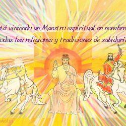 Esta viniendo u maestro espiritual en nombre de