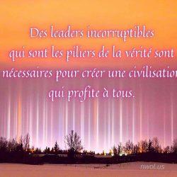 Des leaders incorruptibles