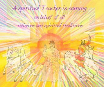A spiritual Teacher is coming