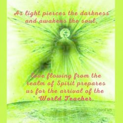 As light pierces the darkness and awakens the soul