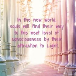In the new world souls will find their way