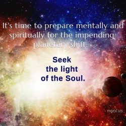 It is time to prepare mentally and spiritually