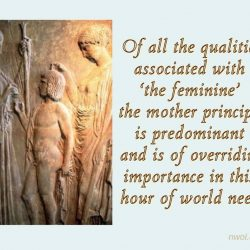 Of all the qualities associated with the feminine