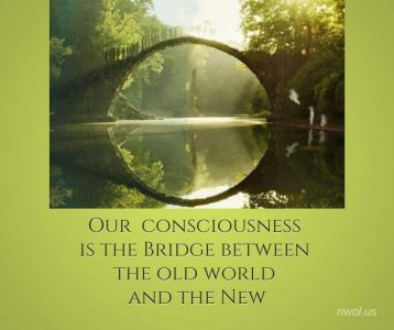 Our consciousness is the bridge