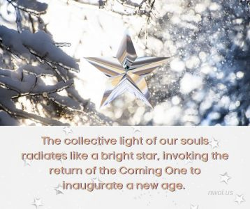 The collective light of our souls