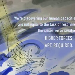We are discovering our human capacities are not equal to the task