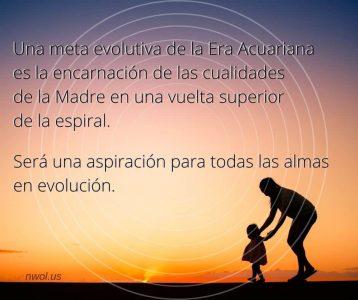 Una meta evolutiva de la era acuariana