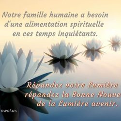 Notre famille humaine a besoin